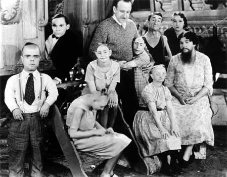 Tod Browning y sus frikis