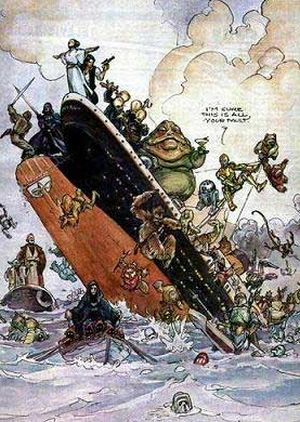 Star Wars vs Titanic